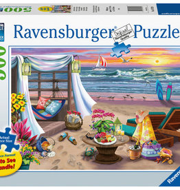 Ravensburger 500pc LF puzzle Cabana Retreat