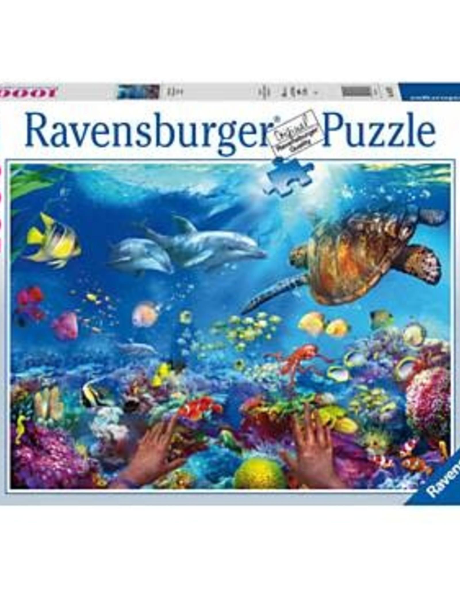 Ravensburger 1000pc puzzle Snorkeling