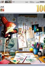 Ravensburger 1000pc puzzle Artist's Desk