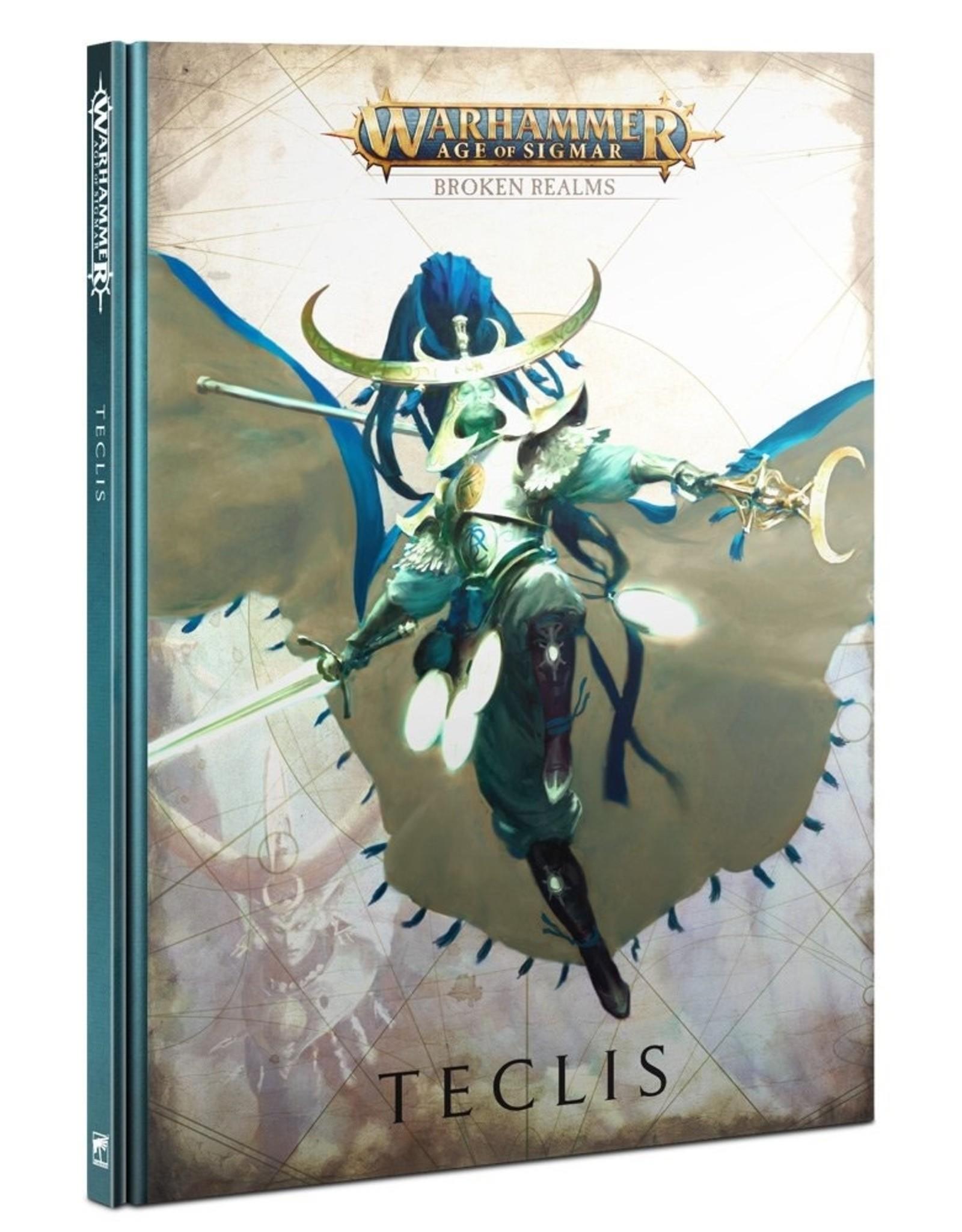 Games Workshop Broken Realms Teclis Codex