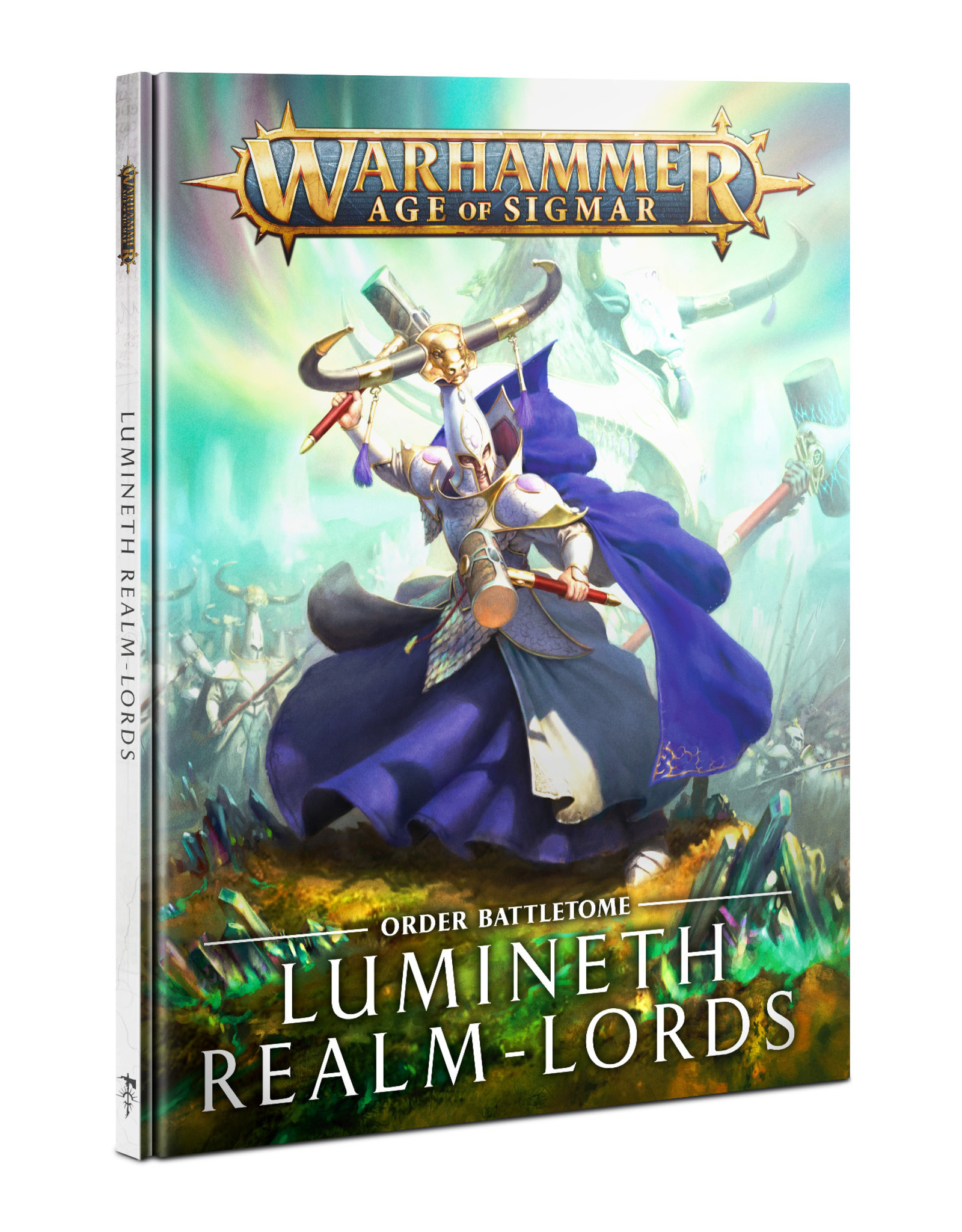Games Workshop Battletome Lumineth Realm-Lords