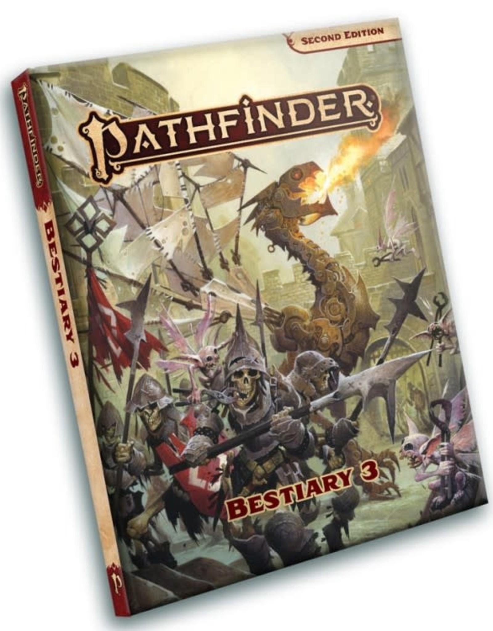 PAIZO Pathfinder 2E: Bestiary 3 Pocket Edition
