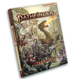 PAIZO Pathfinder 2E: Bestiary 3 Pocket Edition