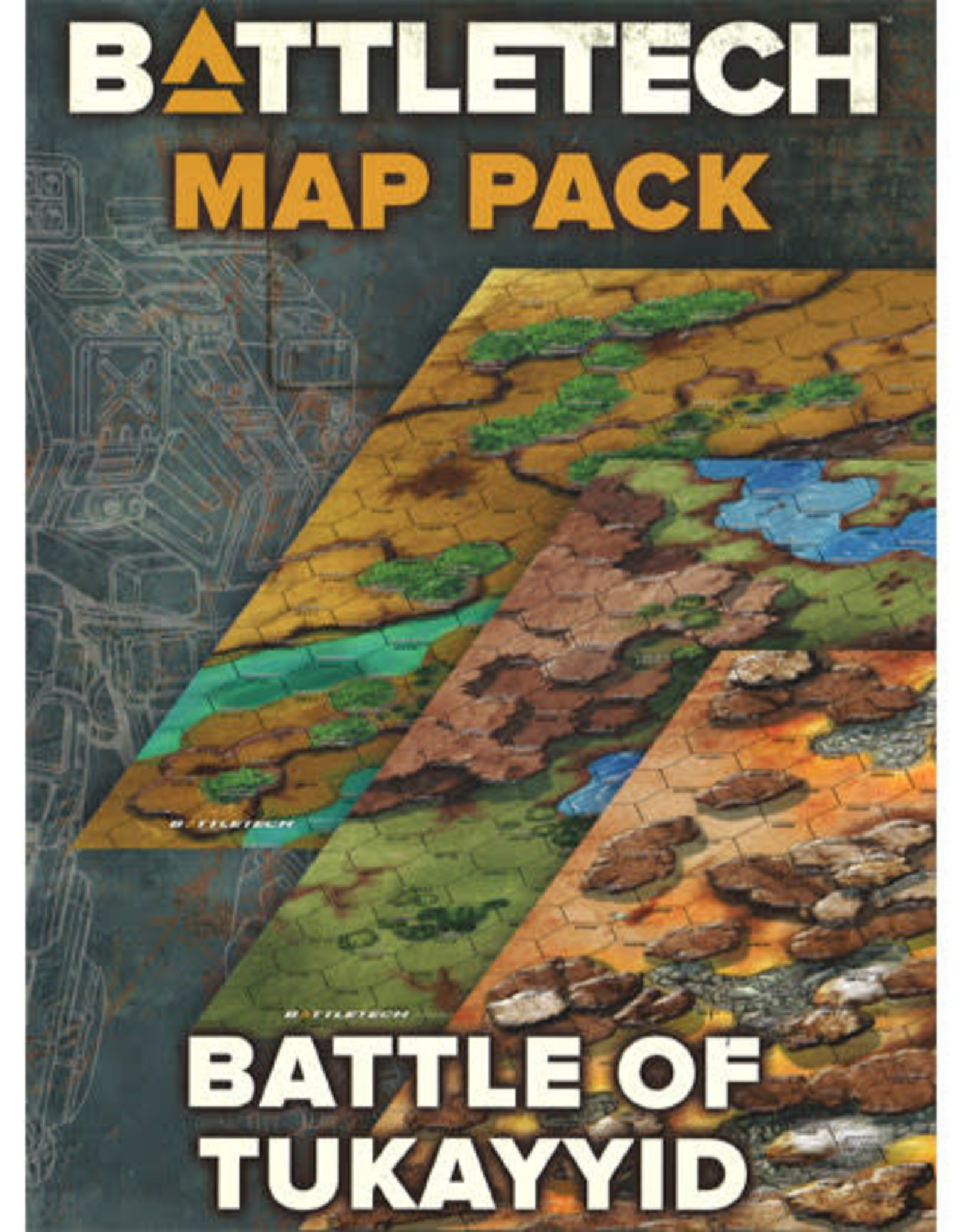 CATALYST GAME LABS Battletech: Map Pack: Battle of Tukayyid