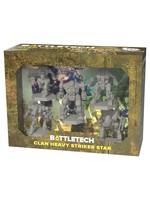 CATALYST GAME LABS Battletech: Miniature Force Pack: Clan Heavy Striker Star
