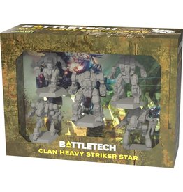 CATALYST GAME LABS Battletech: Miniature Force Pack: Clan Heavy Striker Star