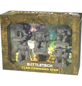CATALYST GAME LABS Battletech: Miniature Force Pack: Clan Command Star