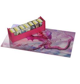Arcane Tinmen Dragon Shield Deck Box: Magic Carpet Pink Diamond w/ Art