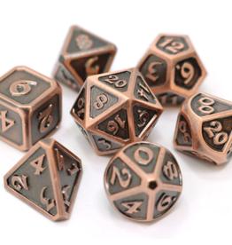 Die Hard Dice Metal Dice 7 set Mythica Battleworn Copper