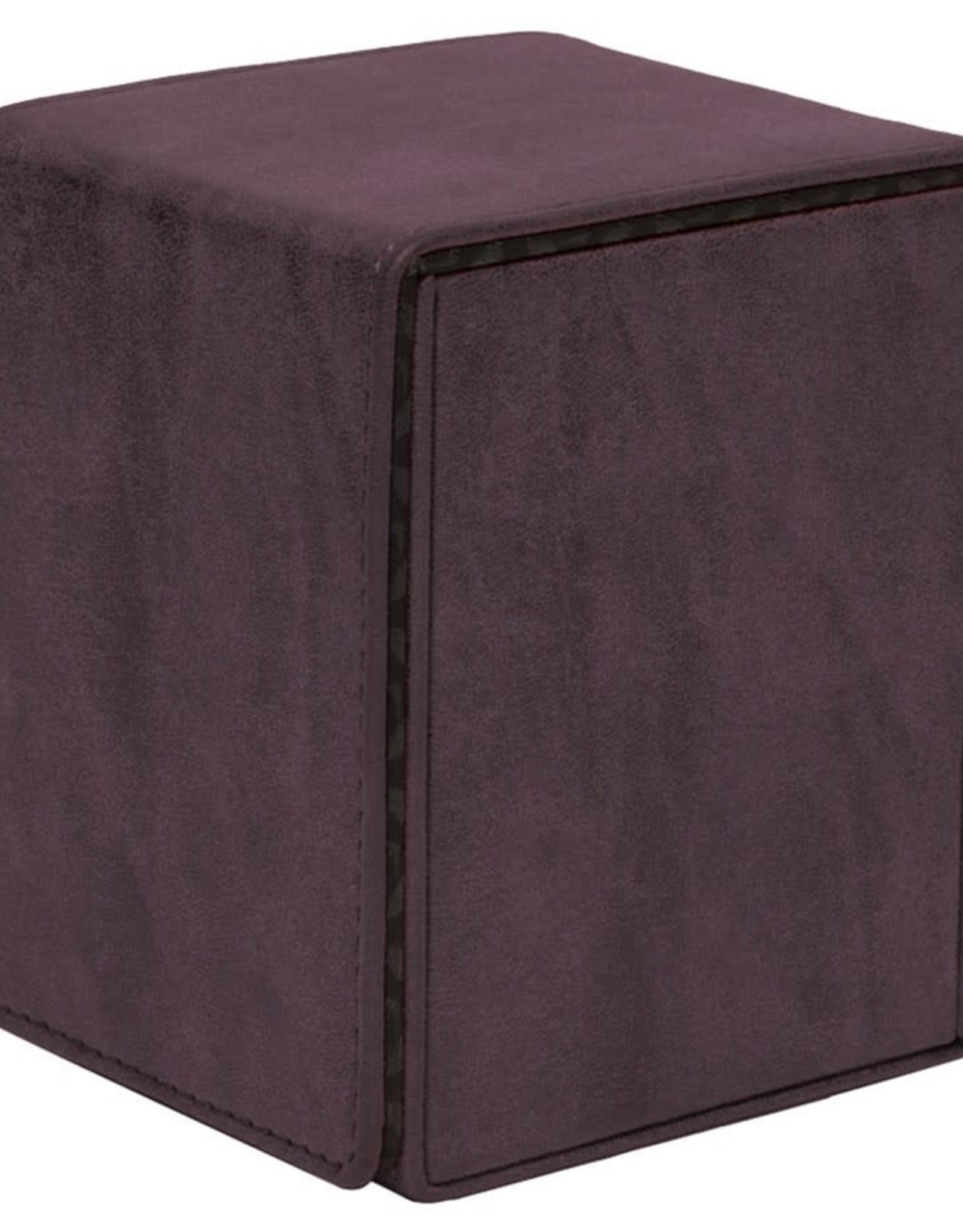 Ultra Pro Alcove Flip Deck Box: Suede Amethyst