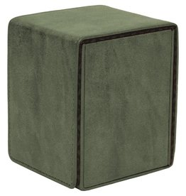Ultra Pro Alcove Flip Deck Box: Suede Emerald