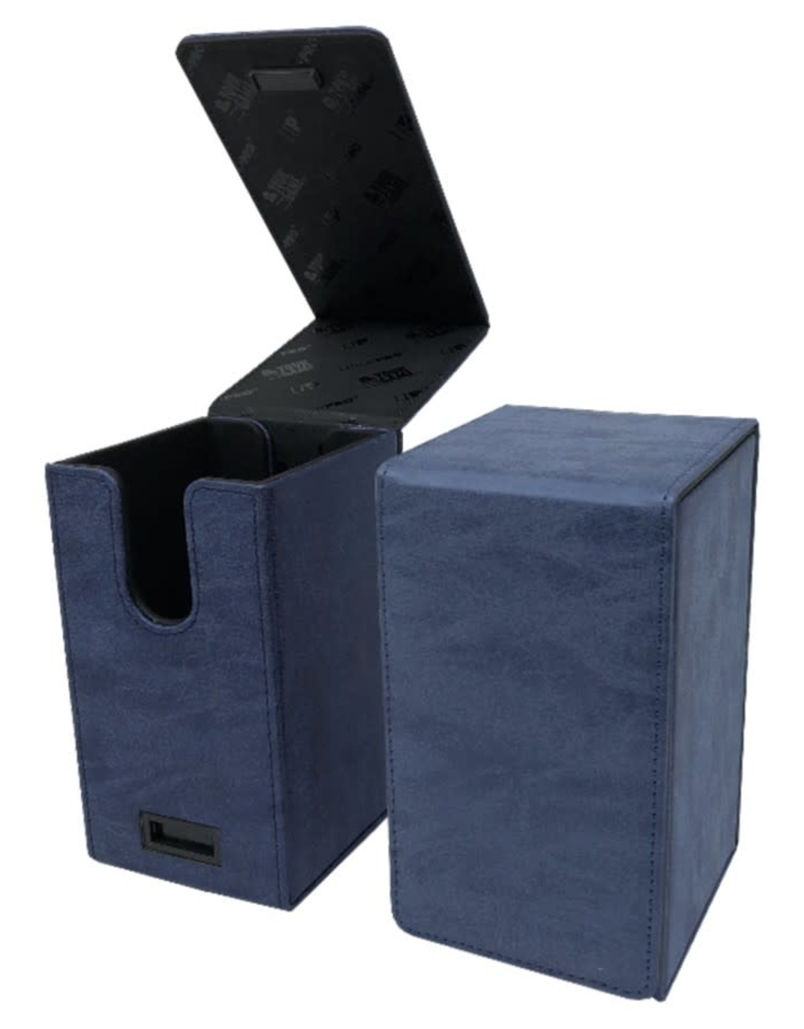 Ultra Pro Alcove Tower Deck Box: Suede Sapphire