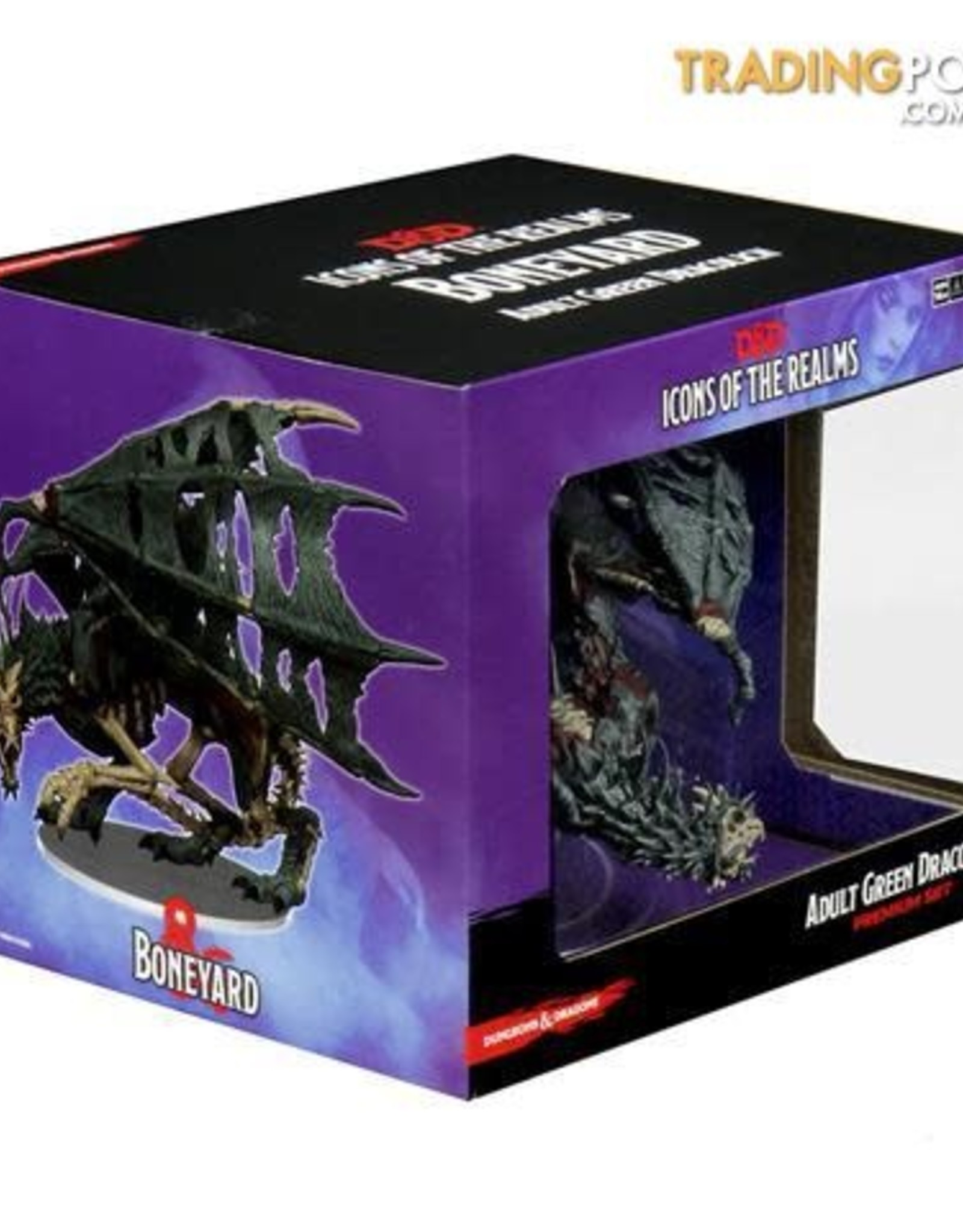 WizKids D&D Icons of the Realms: Boneyard Premium: Green Dracolith