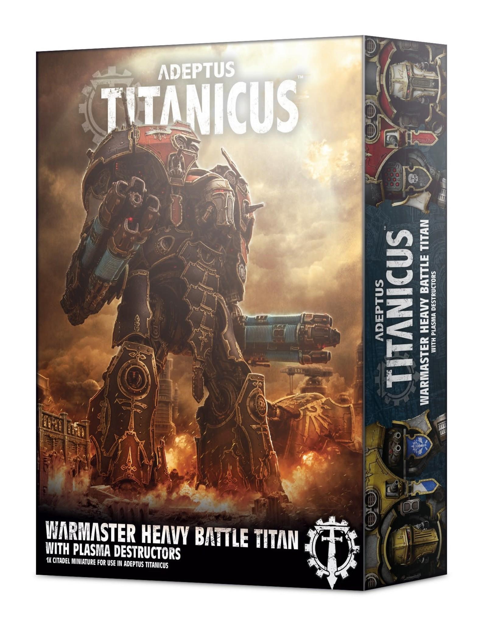 Games Workshop Adeptus Titanicus: Warmaster Heavy Battle Titan w/ Plasma Destructors