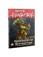 Games Workshop WARCRY: HARBINGERS OF DESTRUCTION (ENG)