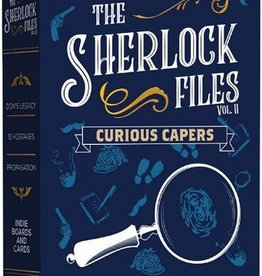 Indie Boards and Cards Sherlock Files Vol 2 Curious Capers