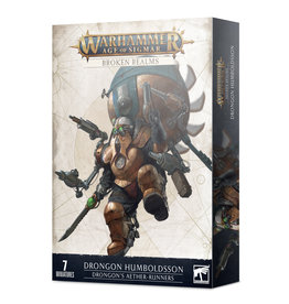 Games Workshop Kharadron Overlords: Drongon Humboldsson Drongon's Aether-runners (Broken Realms)
