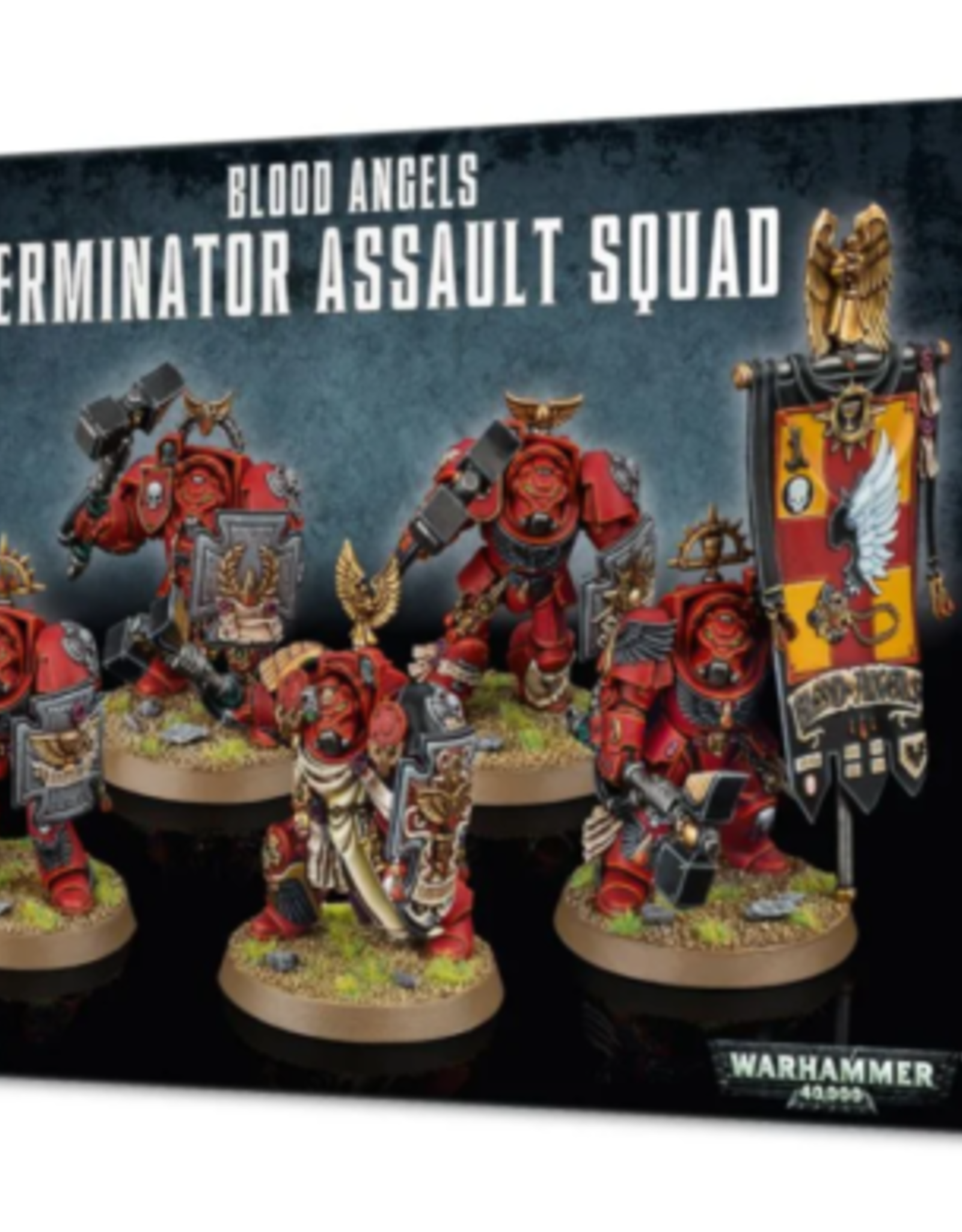 Games Workshop BLOOD ANGELS TERMINATOR ASSAULT