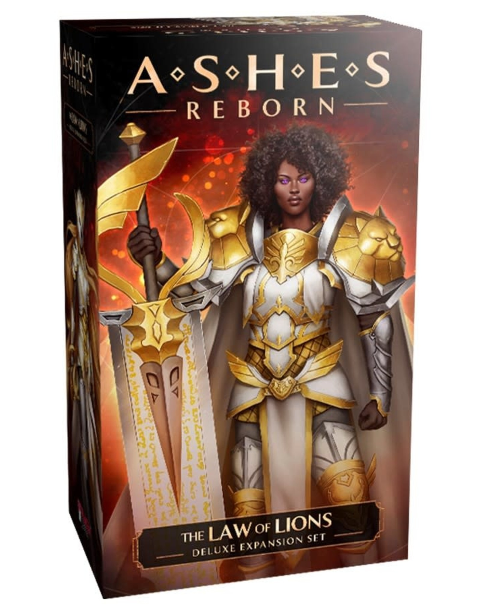 Plaid Hat Games Ashes Reborn: The Laws of Lions Deluxe Expansion