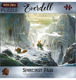 Starling Games Puzzle: Everdell: Spirecrest Pass 1000pc