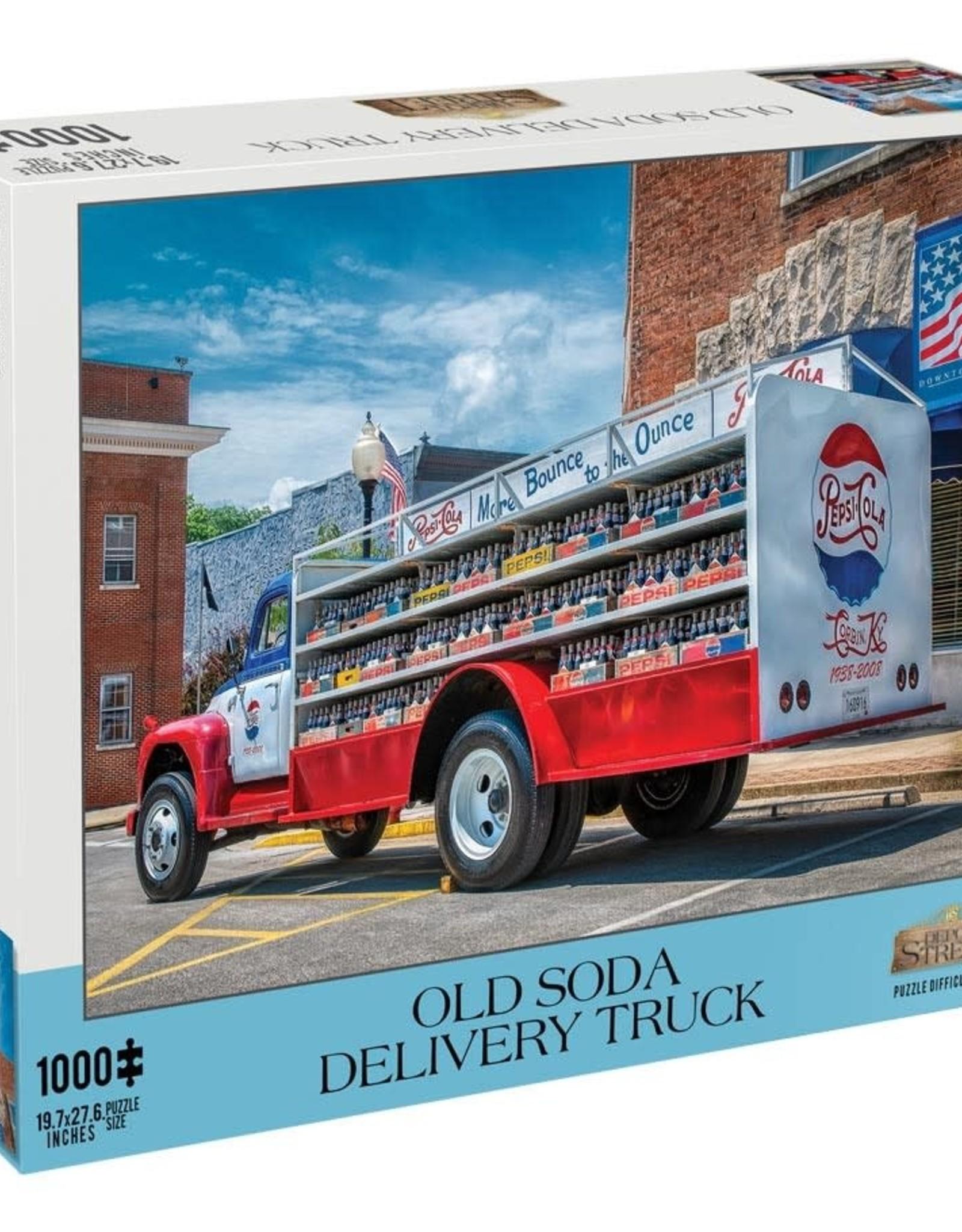 Mchezo 1000pc puzzle Old Soda Delivery Truck