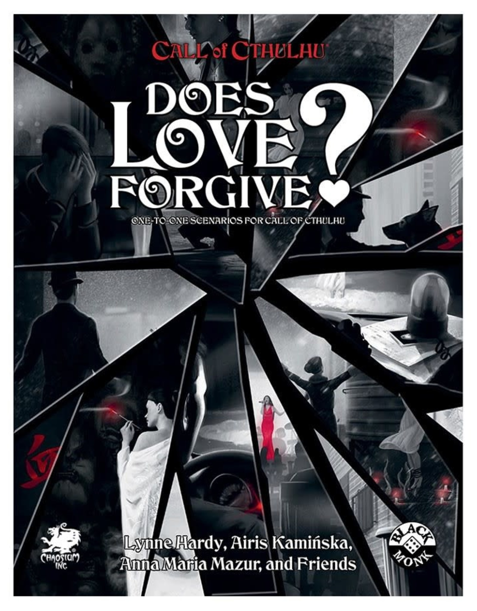 Chaosium Call of Cthulhu RPG: Does Love Forgive?