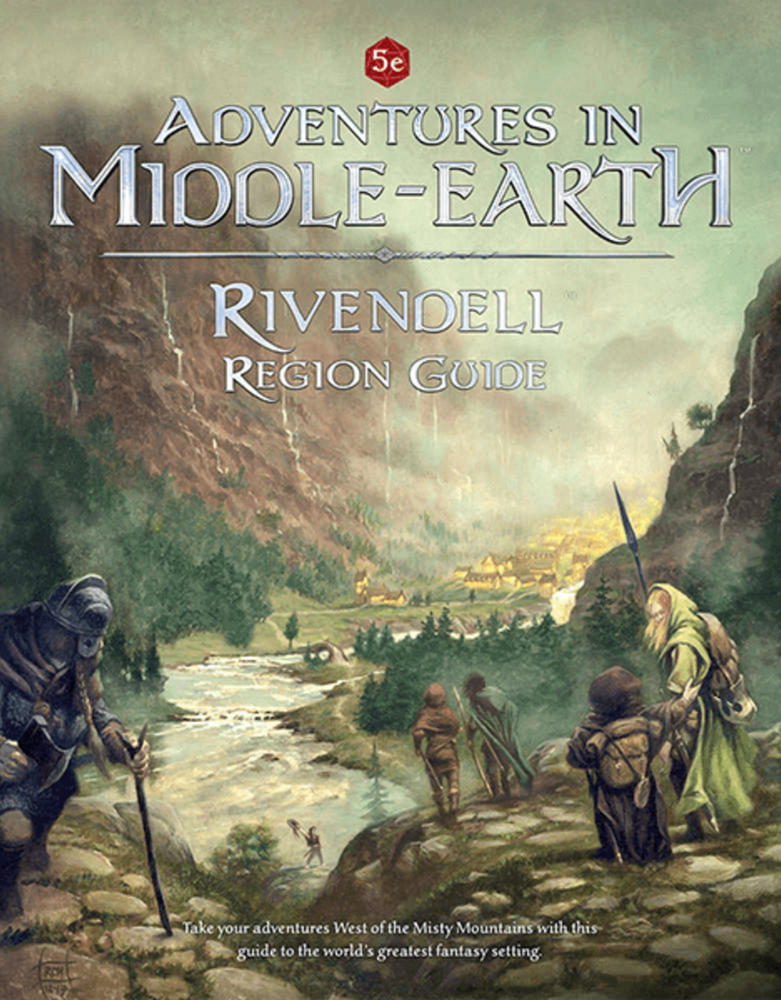 Cubicle 7 Adventures in Middle Earth RPG: Rivendell Region Guide