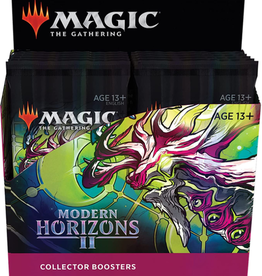 Wizards of the Coast Modern Horizons 2 Collector Booster Box + Buy a Box Promo [Preorder]