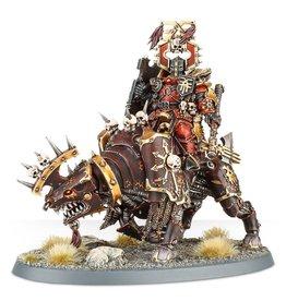 Games Workshop Khorne Bloodbound Lord of Juggernaut