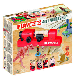 The Cool Tool PLAYmake 4 in 1 Workshop