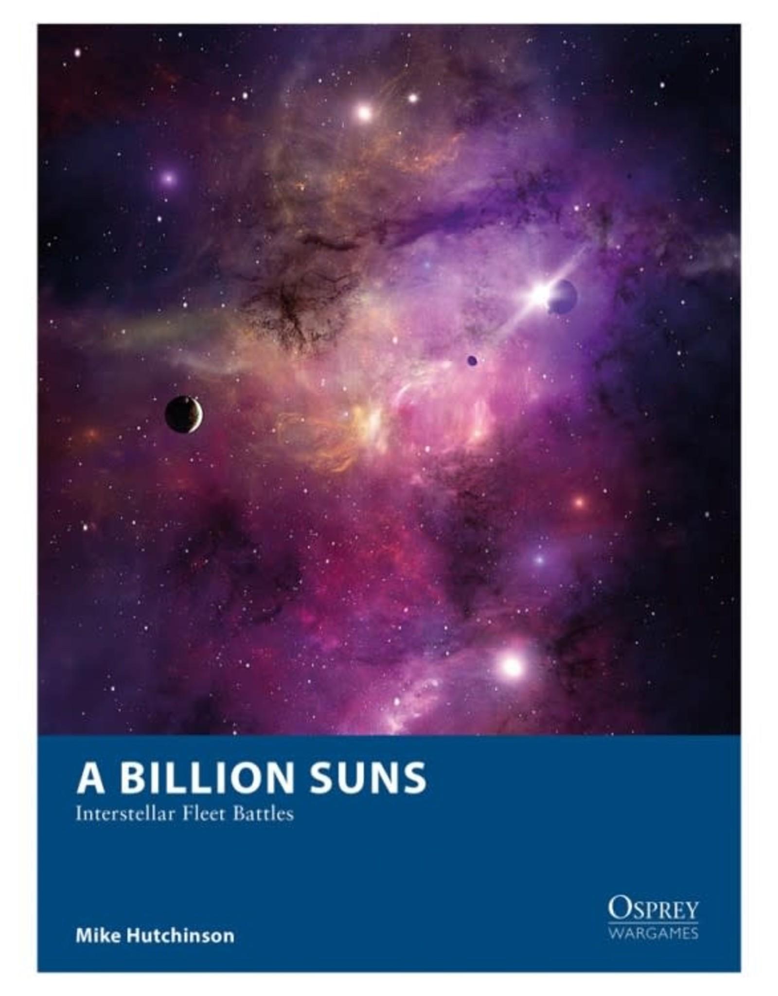 Osprey Games A Billion Suns: Interstellar Fleet Battles