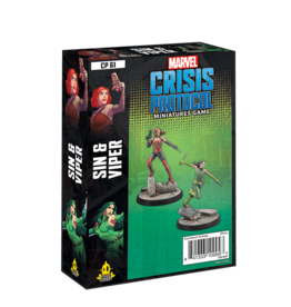 Atomic Mass Games Marvel Crisis Protocol: Sin and Viper Character Pack