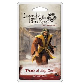Fantasy Flight Games L5R LCG: Peace at Any Cost Dynasty Pack