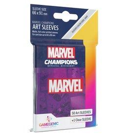 Gamegenic Marvel Champions Art Sleeves - Marvel Purple