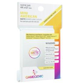 Gamegenic MATTE Sleeves: Mini American