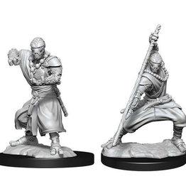 WizKids D&D Nolzur Warforged Monk  W14