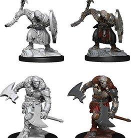 WizKids D&D Nolzur Warforged Barbarian W14