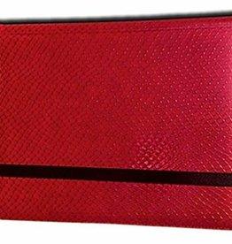 Legion Supplies Binder: 8 pocket: 2x4: Dragon Hide: Red
