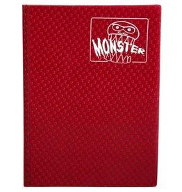 Monster Monster Binder: 9 pocket: Holographic Red