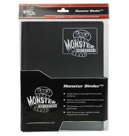 Monster Monster Binder: 9 pocket: Matte Black