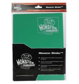 Monster Monster Binder: 9 pocket Matte Emerald Green