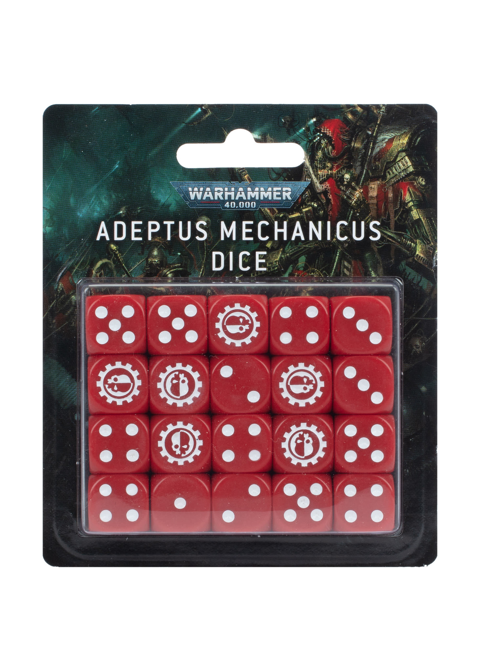 Games Workshop Adeptus Mechanicus Dice
