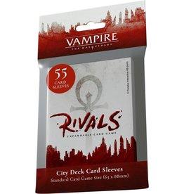 Renegade Game Studios Vampire The Masquerade Rivals ECG: City Deck Sleeves (55)
