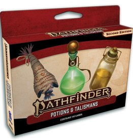 PAIZO Pathfinder 2E: Potions and Talismans Deck