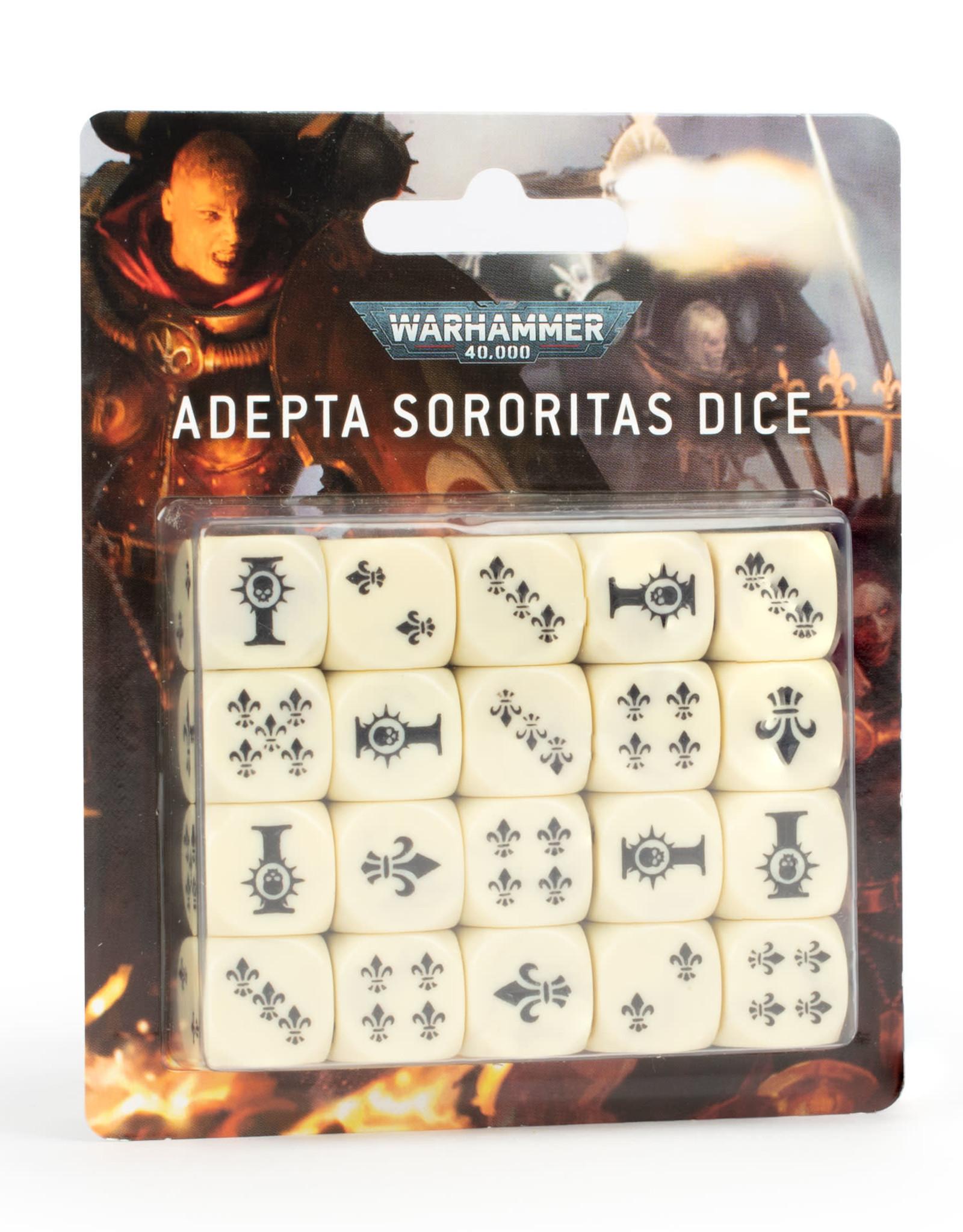 Games Workshop Adepta Sororitas Dice