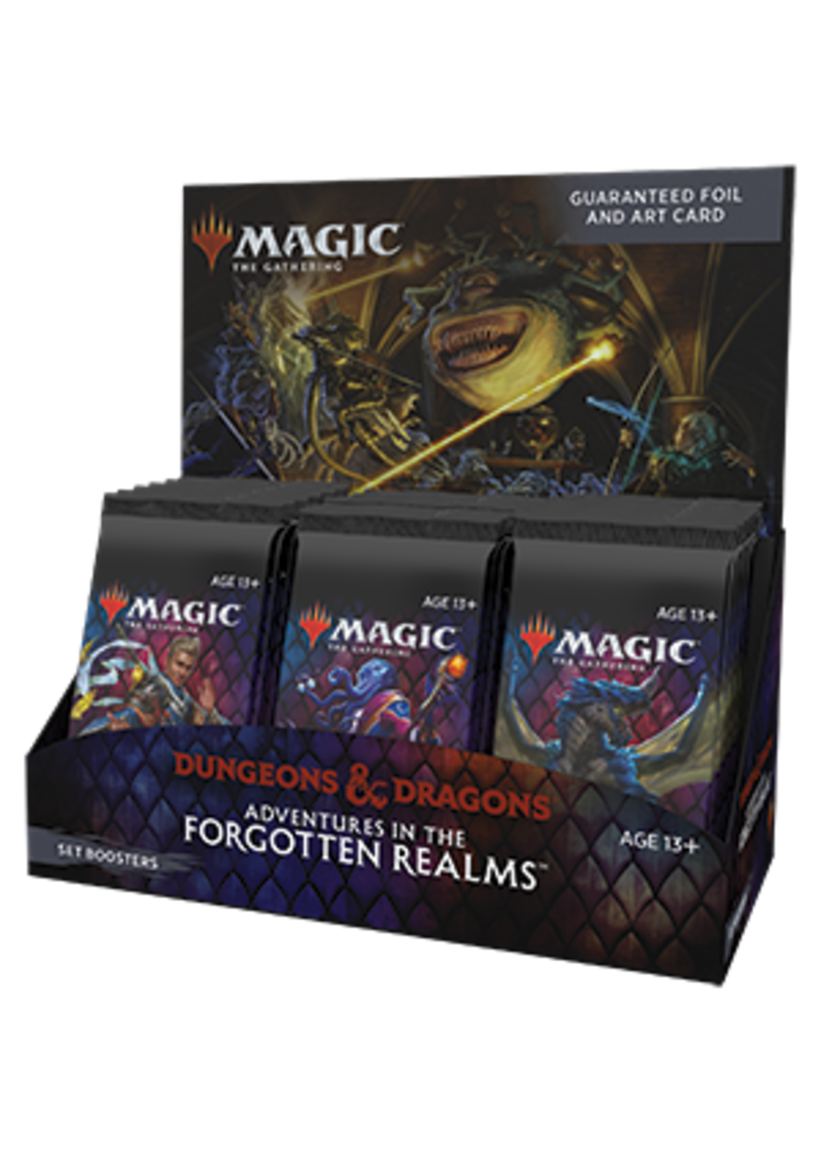 Wizards of the Coast Adventures in the Forgotten Realms Set Booster Box