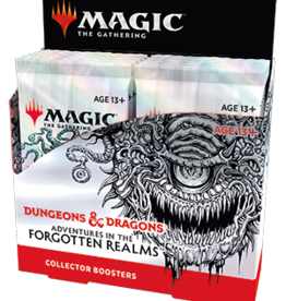 Wizards of the Coast Adventures in the Forgotten Realms Collector Booster Display + Buy a Box Promo [Preorder]
