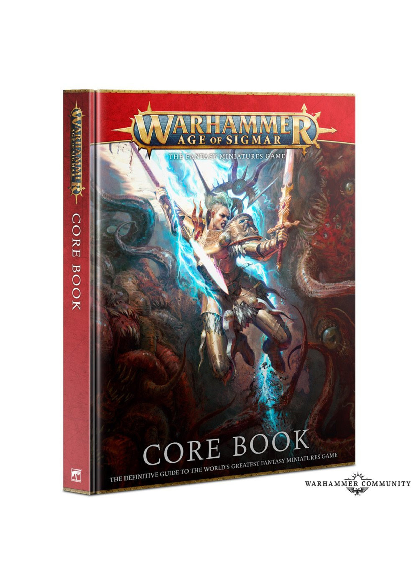 Games Workshop AGE OF SIGMAR: CORE BOOK