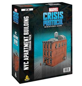Atomic Mass Games Marvel Crisis Protocol: NYC Apartment Terrain Expansion