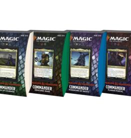 Wizards of the Coast Adventures in the Forgotten Realms Commander Decks - Set of 4